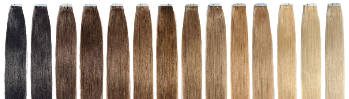 A Guide To Tape In Hair Extensions Envy Hair Resort
